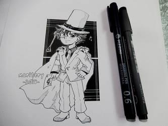 :: Chibi Kaito Kid :: Ink by maritery-san