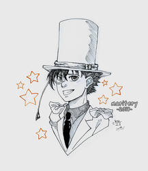 :: Kaito Kid :: Ink2 by maritery-san