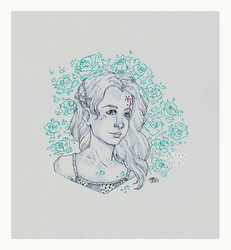 :: Sketching :: Portrait by maritery-san