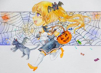 :: Halloween 2018 :: by maritery-san