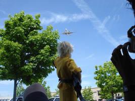 Bye Bye Plane by ValkyriaCreations