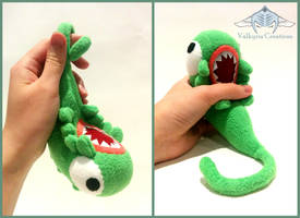 FMA Brotherhood Envy Plushie *Updated colour* by ValkyriaCreations