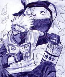 The Famous Copy Ninja Kakashi by Raphi-chan