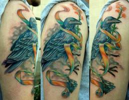 Odin's Raven by Phedre1985