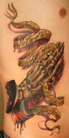 Kole's Skeleton Hands by Phedre1985