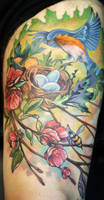 spring bluebird by Phedre1985