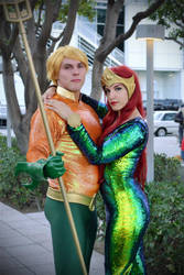 Aquaman and Mera | New 52 by tenleid