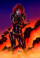 Black Widow by sambis