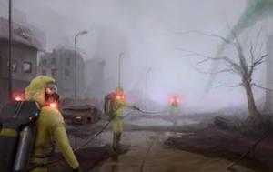 Entering the Fog by Defreeee