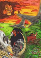 The Lionking by Ganjamira