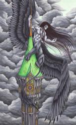Belltower Sphinx by Ganjamira