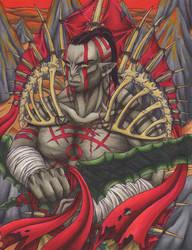 Tiriakan Warrior by Ganjamira