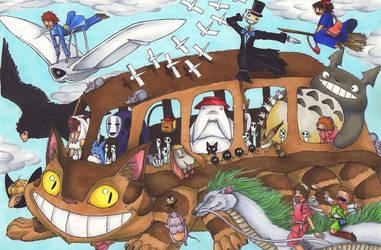 Journey of Ghibli by Ganjamira