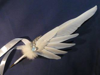 Relic of Archangels - handmade Featherquill by Ganjamira
