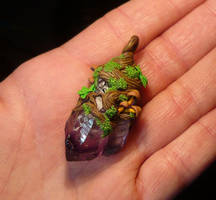 Arboreal Magic - handmade Pendant by Ganjamira