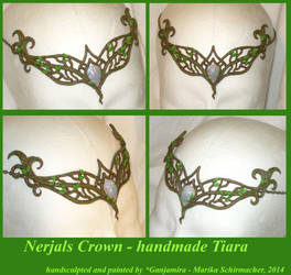 Nerjals Crown - handcrafted Tiara by Ganjamira