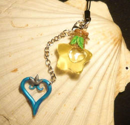 Kingdom Hearts - handmade Keycharm by Ganjamira