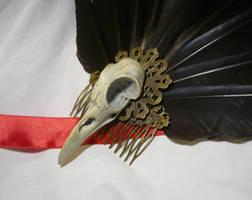 Ravens Glory - Hairdress - Skull Details by Ganjamira