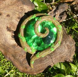Kokiri Emerald - handmade lifesize Prop by Ganjamira