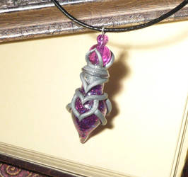 Archmagicians Potion - handmade Bottlecharm by Ganjamira