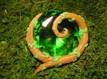 TLoZ:Ocarina of Time - Kokiri Emerald Lifesize by Ganjamira