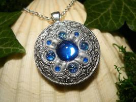 Ocean Pathfinder - handmade Amulet by Ganjamira
