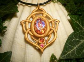 SunSparks Talisman - handmade Amulet by Ganjamira