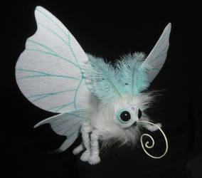 Moonlight Moth - handmade Artdoll by Ganjamira