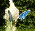 Sapphire Fairy - Mini Fairywings by Ganjamira
