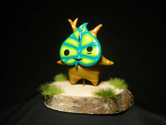 Little Korok Makar - TLoZ-Windwaker Figurine by Ganjamira