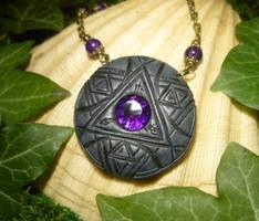 Skeksis Talisman - Remnant of the Dark Crystal by Ganjamira