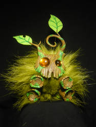 Little Rootling - handcrafted Forestspirit by Ganjamira