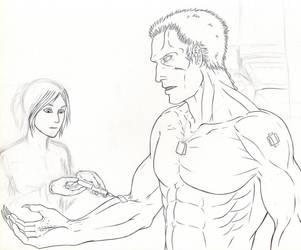 Medical Check-up - Work in Progress by Ganjamira