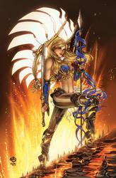 Joan of Arc vol 2 #0 - C2E2 variant by JwichmanN
