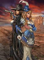 Legends of Oz: Wicked West - Oz-stravaganza pinup by JwichmanN
