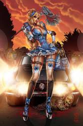 Princesses vs. Zombies by JwichmanN