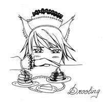 Drooling by Nefeldta