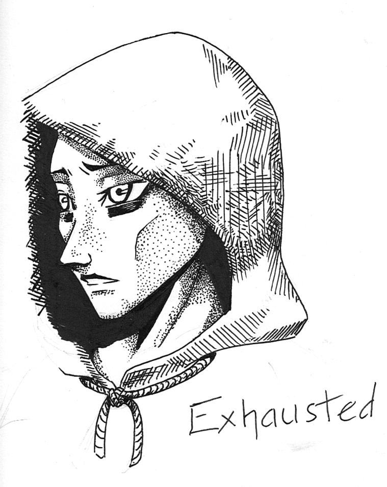 Exhausted by Nefeldta