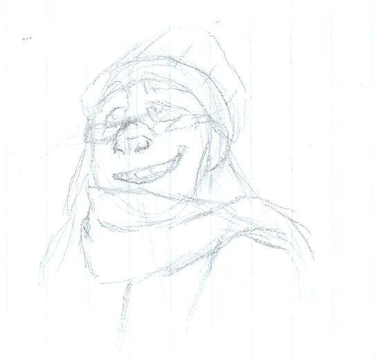 Its me!- Sketch by MusicallyArtisticJen