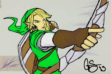 Link Sketch Colored Final by Thunderchin