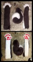 Husky Set Commission by The-Demon-Ferret