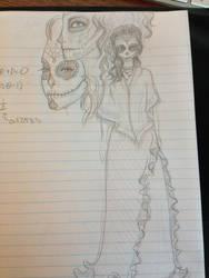 Day of the Dead Girls by emmacairnmccallum
