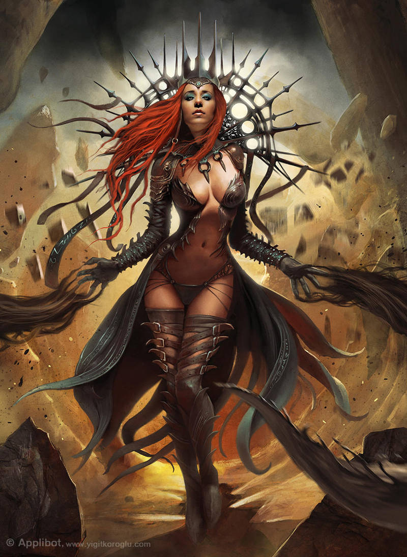 Dark Queen Advanced by yigitkoroglu