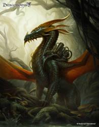 Dragon of Origins by yigitkoroglu