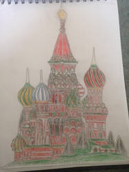 St Basil's Cathedral by KingOli1999