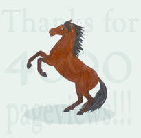 4000 pageview horse... by 1Rusty