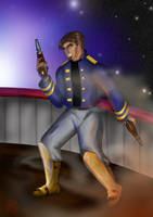 Captain Hawkins by 1Rusty