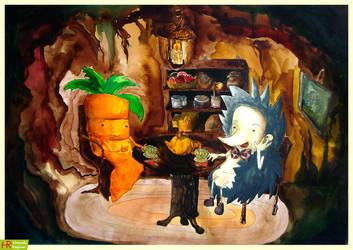 Mellow tea party in the Den by napocska