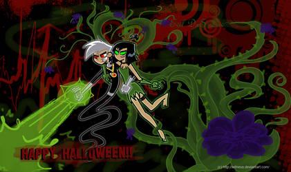 Evil DxS for Halloween by Witneus