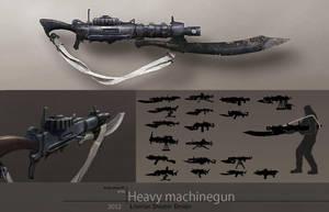 Machinegun Concept by silent-rage